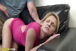 Sexy Blonde Aunt Wins The Argument With Dirty Fucking