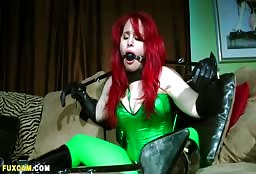 Sexy Red Haired Goblin Has Some Dirty Fetish Fun Tonight