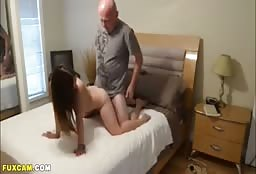Sexy Teen Daughter Fucks Hard With Her Horny Daddy