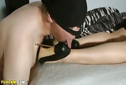 Unconscious Milf Has Her Lovely Pair Of Feet Worshipped